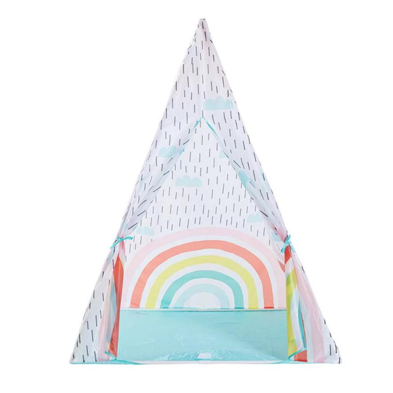 Cloth Children Tent Colorful Portable Indoor Outdoor Play Tent House GiftCloth Children Tent Colorful Portable Indoor Outdoor Play Tent House Gift