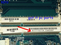 KEFU HOT IN RUSSIA NEW ITEM .. A1771577A (FIT A1771575A) MBX 224 M960 REV : 1.1 laptop motherboard For Sony VPCEB Notebook pc