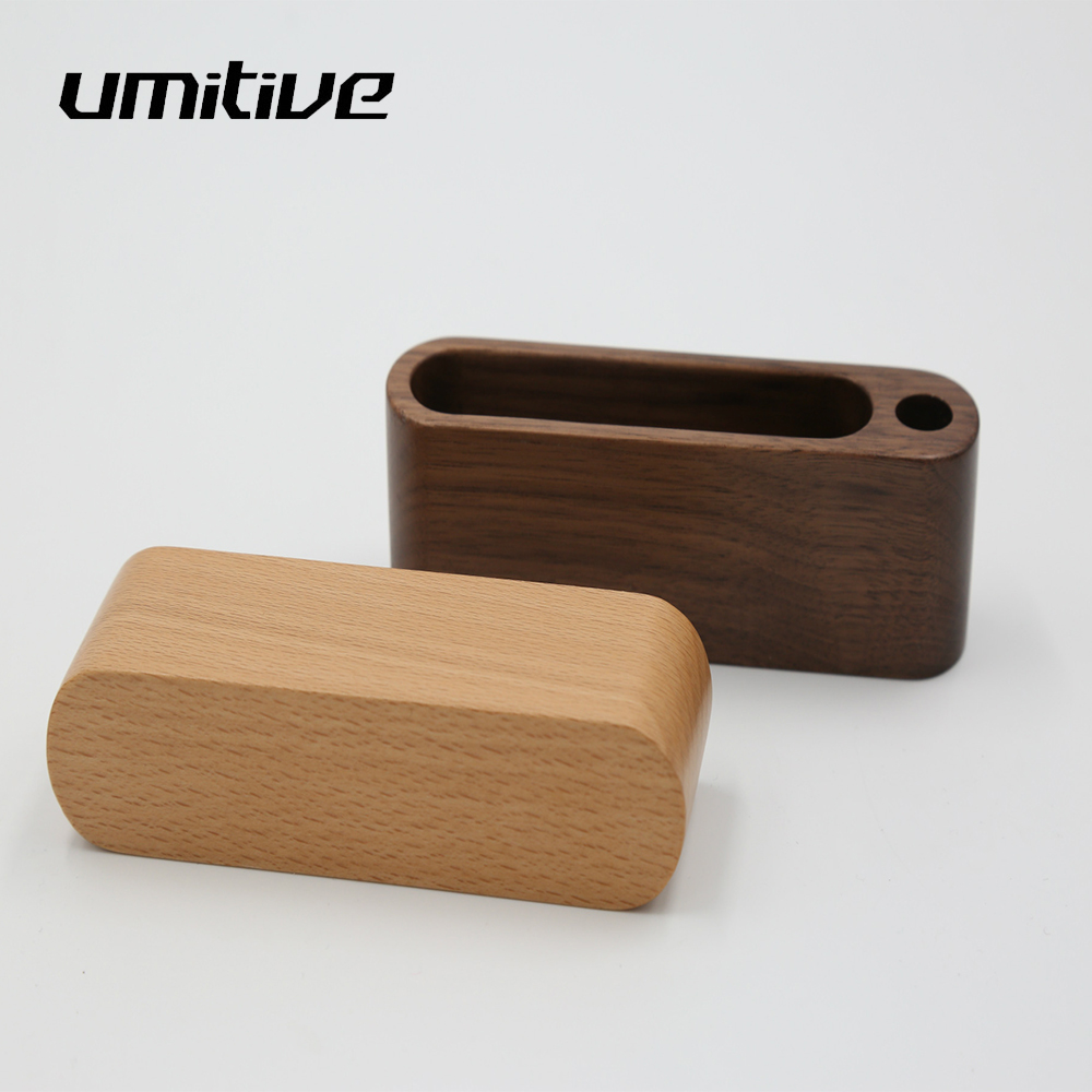 Umitive 1 Pcs Wooden Business Card Holder Office Business Card Storage Desk Business Card Face Display Stand Storage Accessories