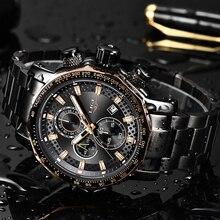 Relogio Masculino 2019 nowy zegarek mężczyźni LIGE męskie zegarki Top marka luksusowe męskie sportowe kwarcowy zegar wojskowy wodoodporny chronografu