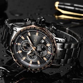 ab23141de295 Reloj Masculino 2019 nuevo reloj de los hombres en este momento relojes  para hombre marca de lujo Hombre Deporte reloj de cuarzo impermeable  militar ...