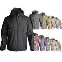 TAD SoftShell V4.0 kurtka taktyczna wojskowy kamuflaż kurtka myśliwska męskie wodoodporna kurtka polowanie ubrania wiatrówka