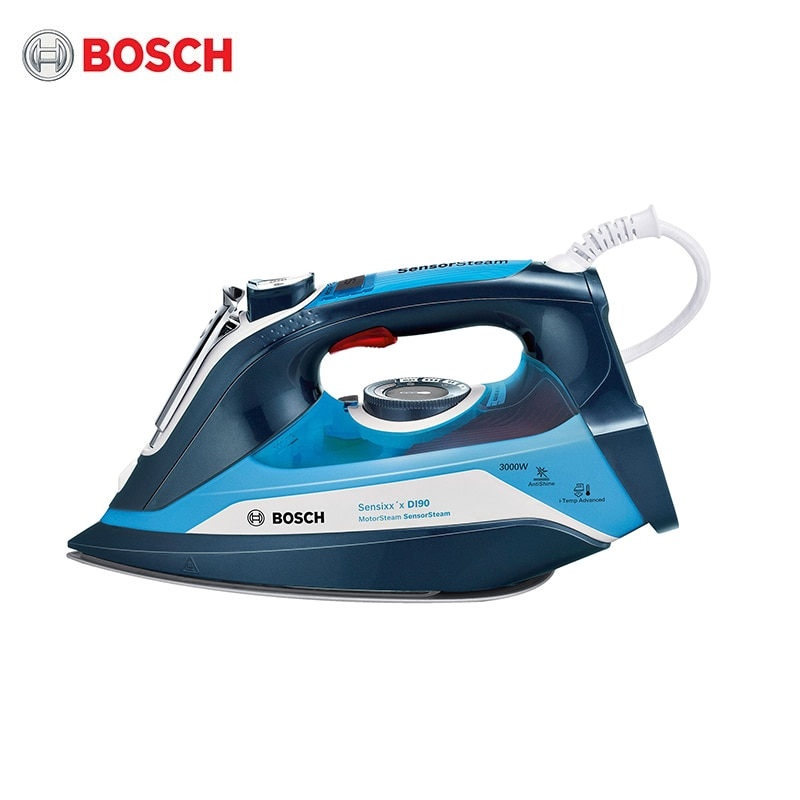 Steam Station Bosch TDI903031A steam generatior iron for ironing garment laundry household appliances home high power esd bga rework station pcb preheat and desoldering ir preheating station soldering station electric soldering iron