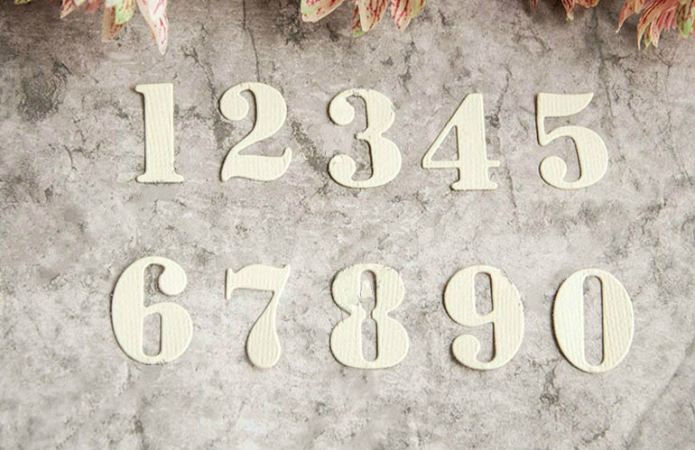 цены Metal Numbers Cutting Dies Stencils for DIY Scrapbooking/photo album Decorative Embossing DIY Paper Cards