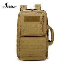Купить с кэшбэком Molle System Camping Hiking Backpacks Travel Bags Military Nylon Tactical Bag Handbags Shoulder Climbing Sac De Sport XA783WD