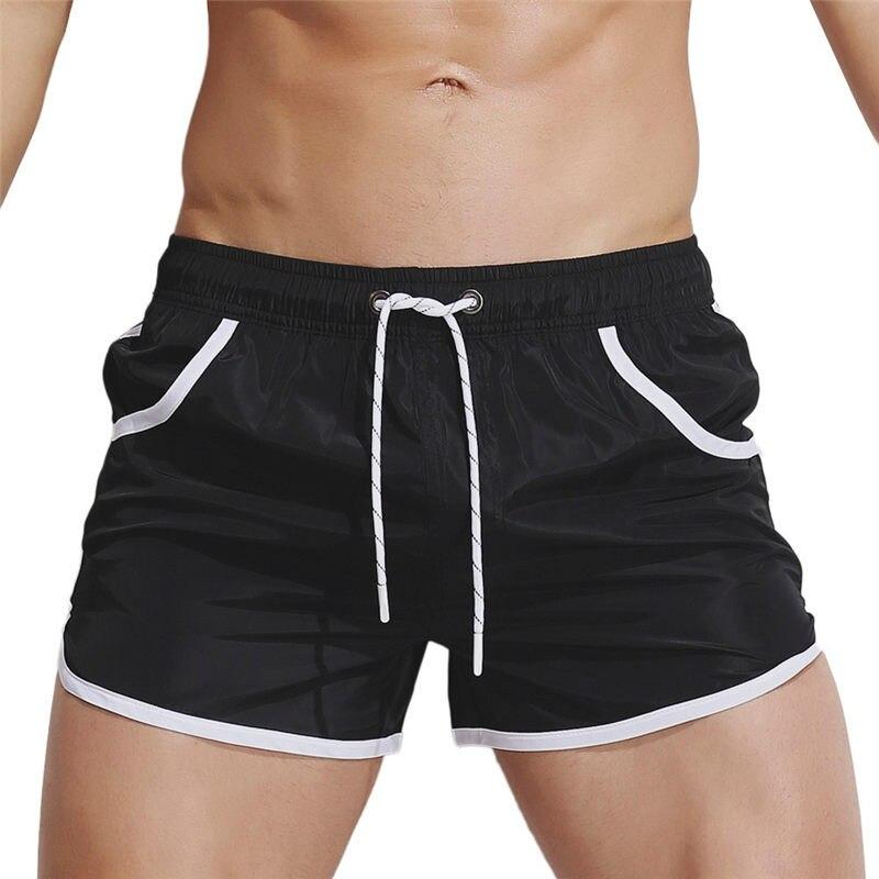 AUSTINBEM Mens 2019 Brand Mens Surf Boardshorts Breathable Swim Trunks Pants Swimwear Shorts Slim Wear Bikini Swimsuit#y10
