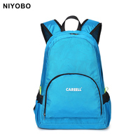 casual double-shoulder travel backpack for women and men waterproof foldable luggage backpack sac a dos PT107-1