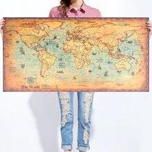mapamundi pared RETRO VINTAGE