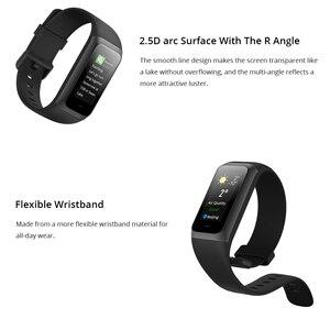 Image 3 - Amazfit Band Cor 2 умные часы, 5ATM, водонепроницаемые, 2.5D цветные, из нержавеющей стали, для Android, IOS, Huami, smartwatch, браслет