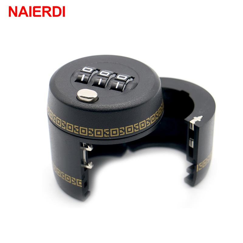 NAIERDI Plastic Bottle Password Lock Combination Lock Wine Stopper Vacuum Plug Device Preservation For Furniture Hardware 1