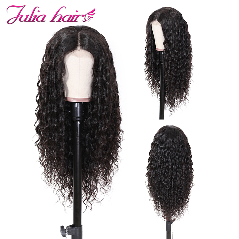 Ali Julia Hair 360 Lace Front Human Hair Wigs  Brazilian Natural Wave Remy Hair Wig With Baby Hair