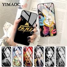 YIMAOC Bunny Maluma Ozuna POP Rapper Glass Case for Xiaomi Redmi 4X 6A note 5 6 7 Pro Mi 8 9 Lite A1 A2 F1