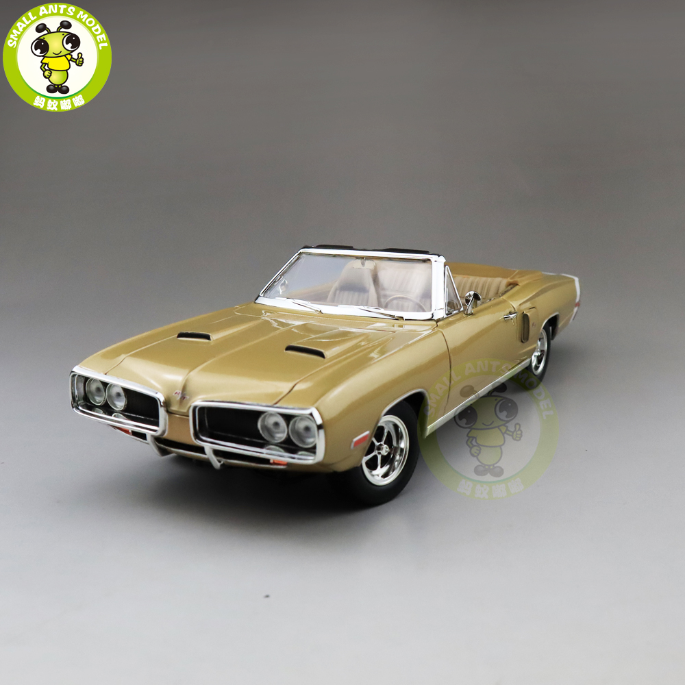 1/18 1970 CORONET R/T Road Signature Diecast Model Car Toys Boys Girls Gift