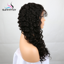Sunnymay Glueless Brazilian Remy Lace Front Human Hair Wigs Pre Plucked Natural Hairline With Baby Hair For Black Women