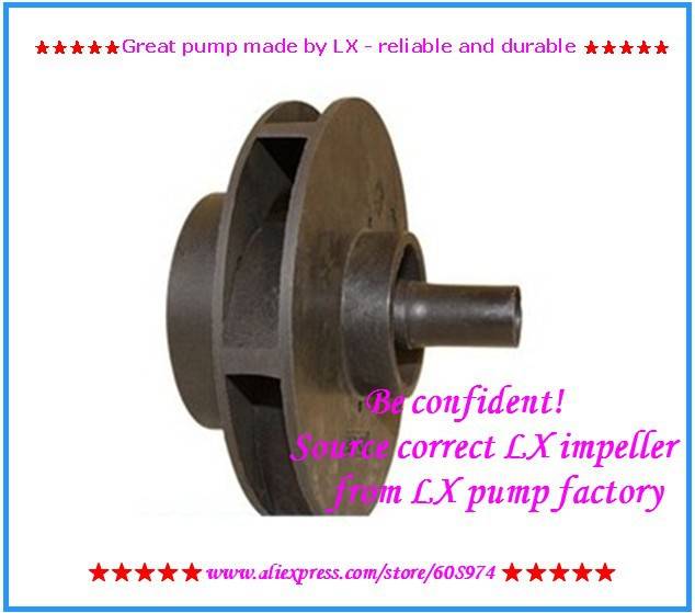 LX STP100 Pump Impellor and whirlpool pump impeller for STP 100 mantra люстра на штанге alfa 0412gold