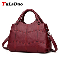 Brand Tote Designer Handbags High Quality Shoulder Bags Patchwork Fashion PU Leather Women Bag Ladies Luxury