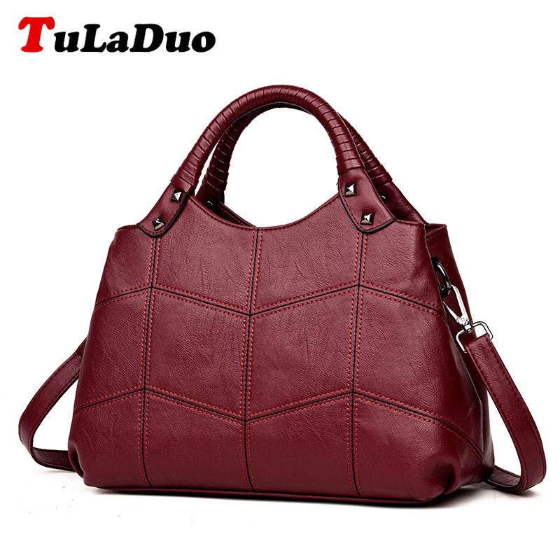 Brand Tote Designer Handbags High Quality Shoulder Bags Crossbody Fashion PU Leather women bag ladies Luxury Hand bag sac a main luxury handbags women bags designer handbags high quality pu leather bag famous brand retro shoulder bag rivet sac a main