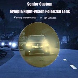 Image 3 - Night vision drive custom made eyeglasses for driving lenses optical lens with prescription single vision lenses