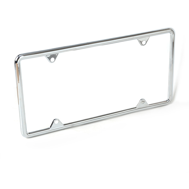 CITALL Zinc Alloy License Plate Frame For Mercedes Benz W212 Audi Q5 BMW  F10 VW Golf