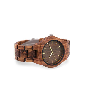 Image 5 - wooden watch male gents watches clok men relogio masculino luxury men brand FOR mens souvenir relogio watch