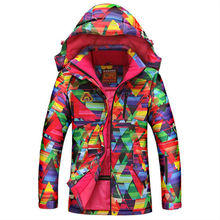 2016 New High Quality Winter Jacket Women Skiing Jacket Outdoor Snowboarding Color Warm Waterproof Windproof Breathable Clothes
