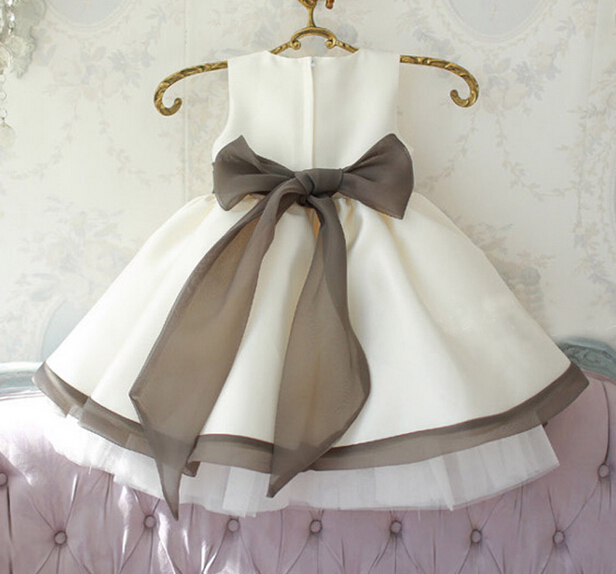 b0d8f4e1e BABY WOW baby girl dress wedding Christmas 1 year birthday dress baby  flower girl dresses clothing infant princess dress 8028-in Dresses from  Mother & Kids ...
