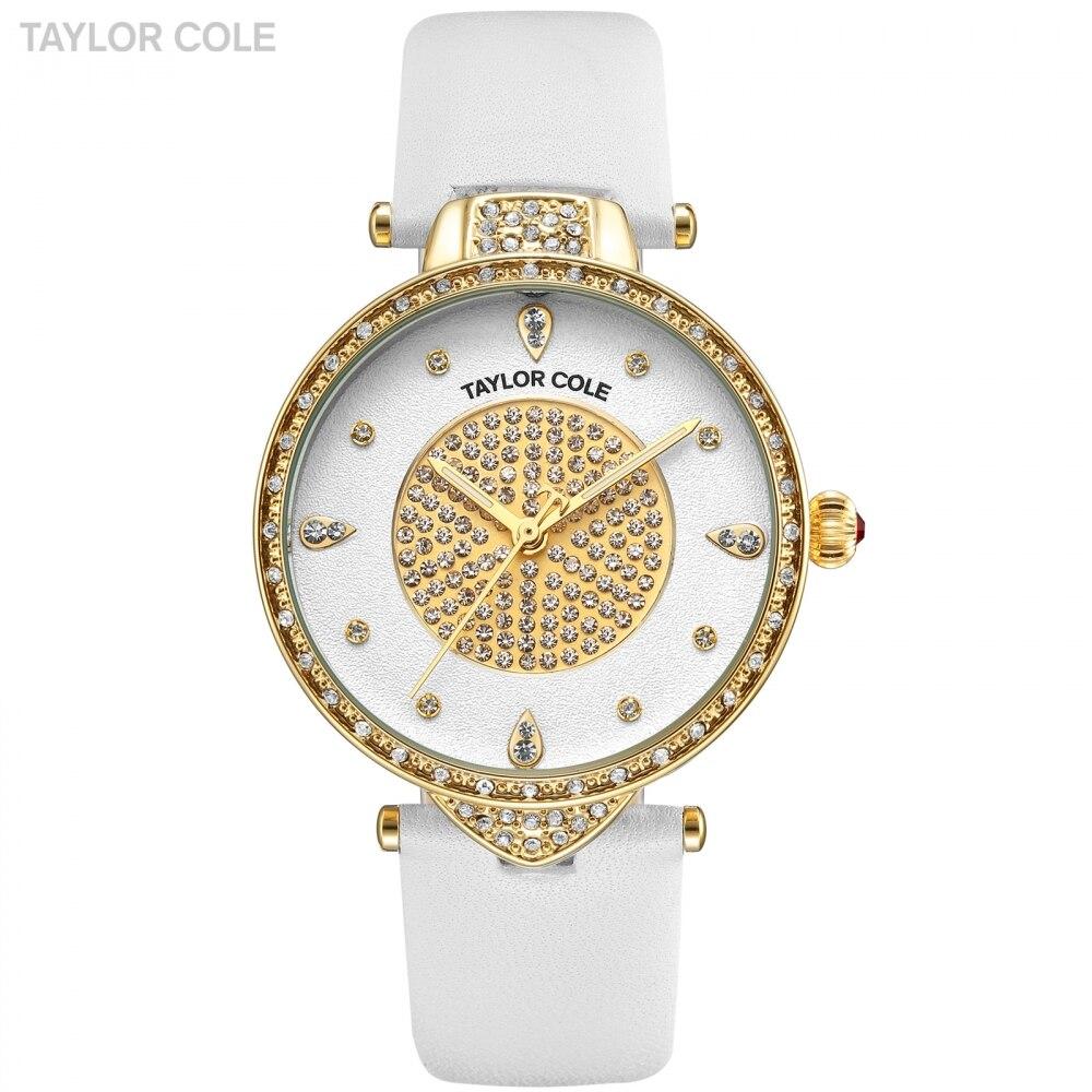 433b4e140a6 Mulheres Relógios Relógios de Ouro para Mulheres Nova Taylor Cole ...