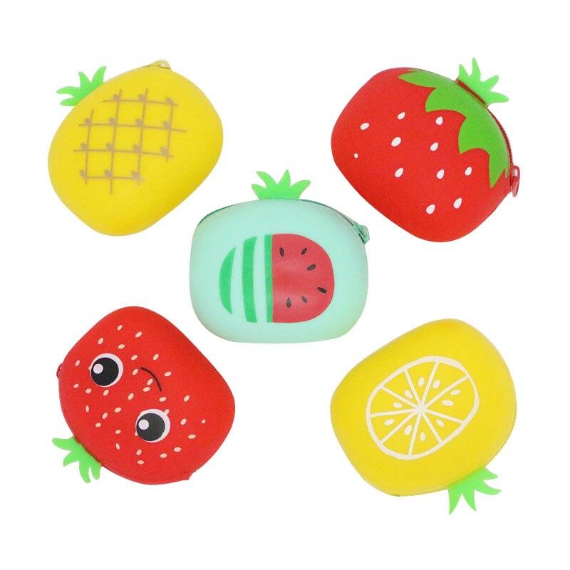 Mignon Mini Pcs De Clés Portefeuille Message Gel Leave lot Portefeuilles Fruits Créativité Petite Please Coin Silice Sac Femmes Fille Poche monnaie 25 Porte Sd6wxvvA