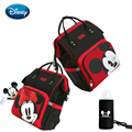 Disney большой Ёмкость USB водонепроницаемый подгузник сумки из рубашечной ткани изоляции мешки кормление из бутылочки сумка для хранения путе...