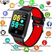 Smart Wristband Ip67 Waterproof Bracelet Bluetooth Heart Rate Monitor Blood Pressure Measurement Fitness Tracker Sports Bracelet