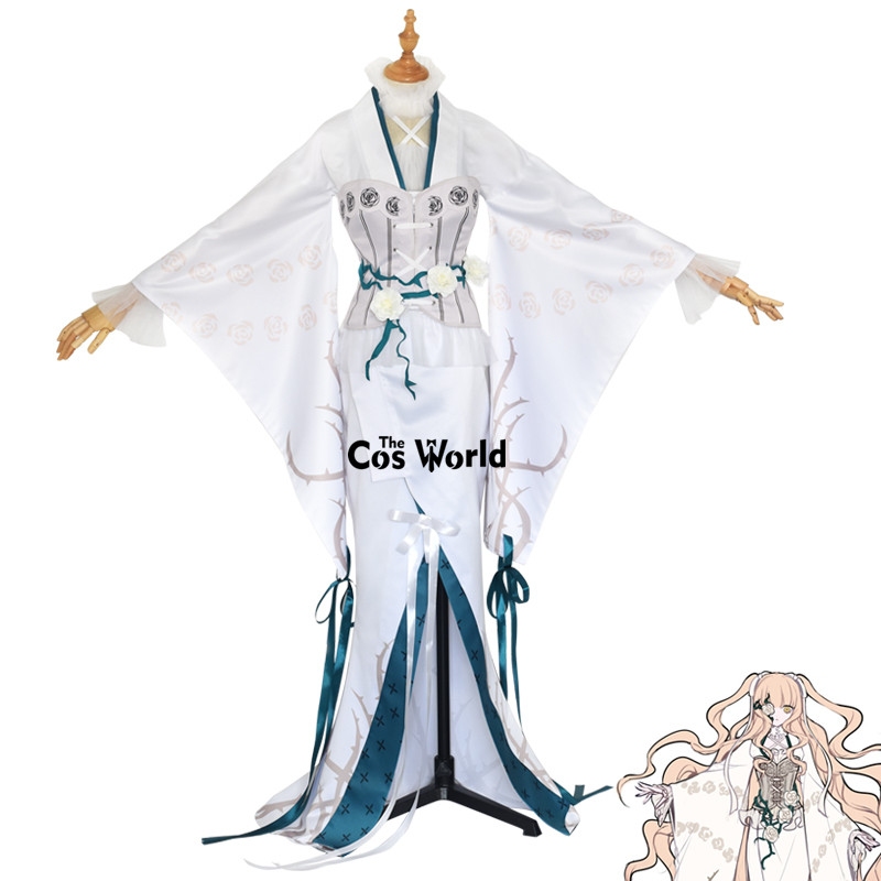 Rozen Maiden 15th Anniversary Kirakishou Kimono Tops Vest Dress Uniform Outfit Anime Cosplay Costumes