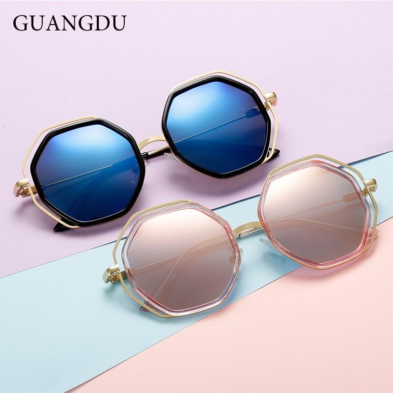 UnabhäNgig Guangdu Kinder Polarisierte Sonnenbrille Jungen Und Mädchen Luxus High-end-design Kinder Sonnenbrille Frauen Platz Sonnenschutz Gläser Eleganter Auftritt