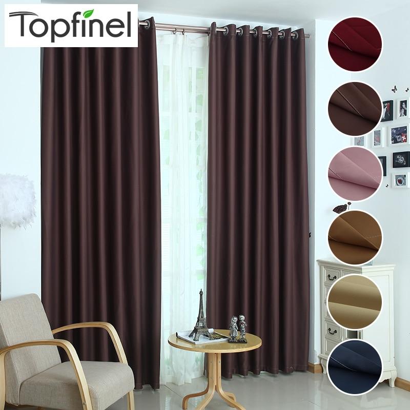 Topfinel luxe moderne zonwering venster verduisteringsgordijnen voor keuken woonkamer de slaapkamer ramen behandelingen stof
