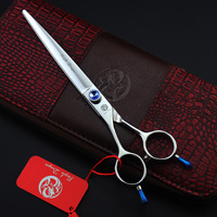 7inch Free Shipping Hair Cutting Scissors /Left hand Hair Shears / Barber Scissors for Hairdressing/Pet Scissors with bag