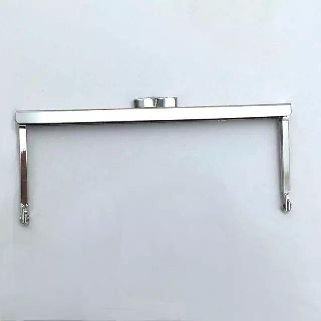 Purse frame 18cm Nickel Crimp Bag frame purse frames make a purse