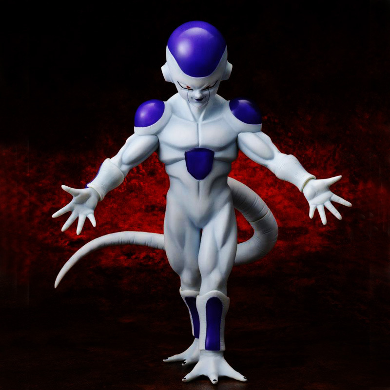 ФОТО action figure toys dragon ball z msp super saiyan frieza final stage pvc collection action toys 19cm