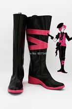 Fashion MojoSpy Cosplay Men Boots Boys Shoes Custom Knee-High Riding Boots New Arrival