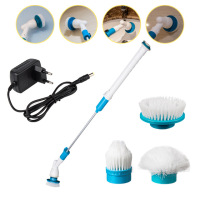 Electric Multifunction Brush Wireless Charging Scrubber Electric Long Handle Cleaning Brushes Household Cleaning Tools