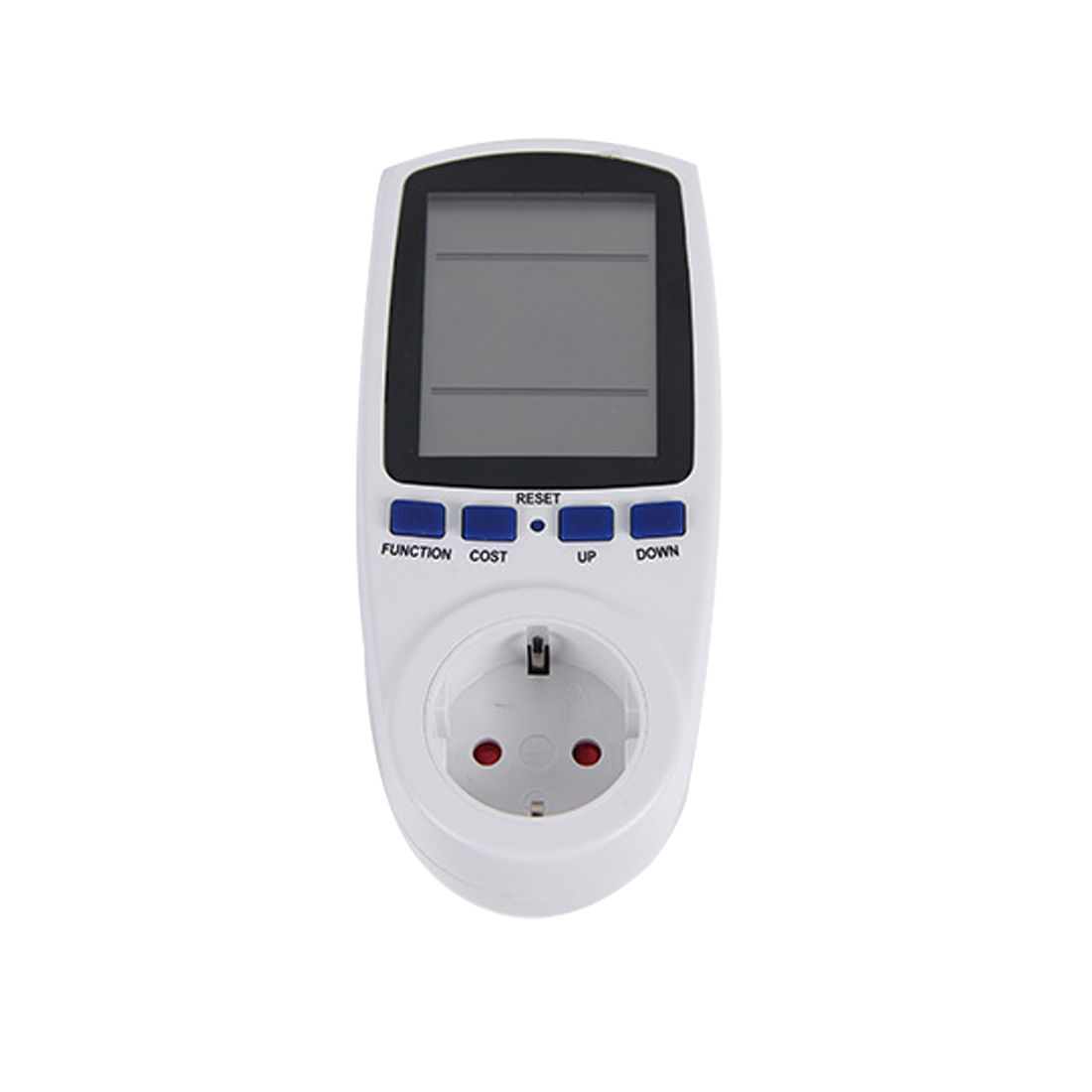 AC Power Meter 220V Digital Wattmeter EU Energy Meter Watt Monitor Electricity Consumption Measuring Socket Analyzer