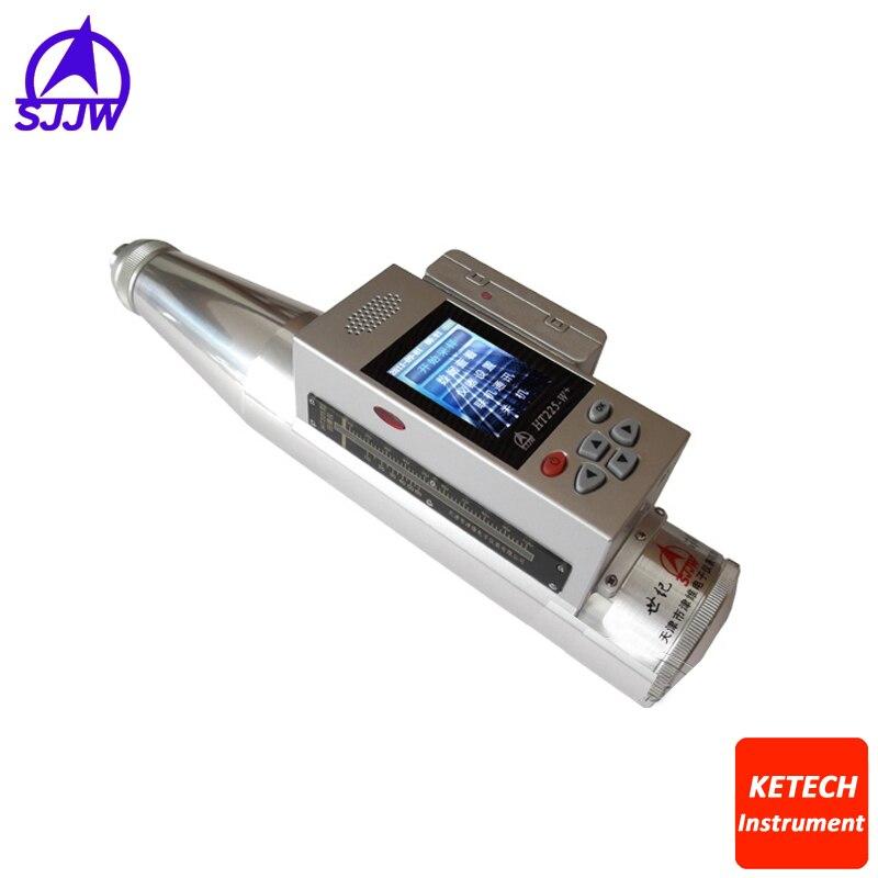 Marteau d'essai numérique vocal intégré de certificat de la CE, essai de marteau de rebond (imprimante IR sélectionnable) HT225W +