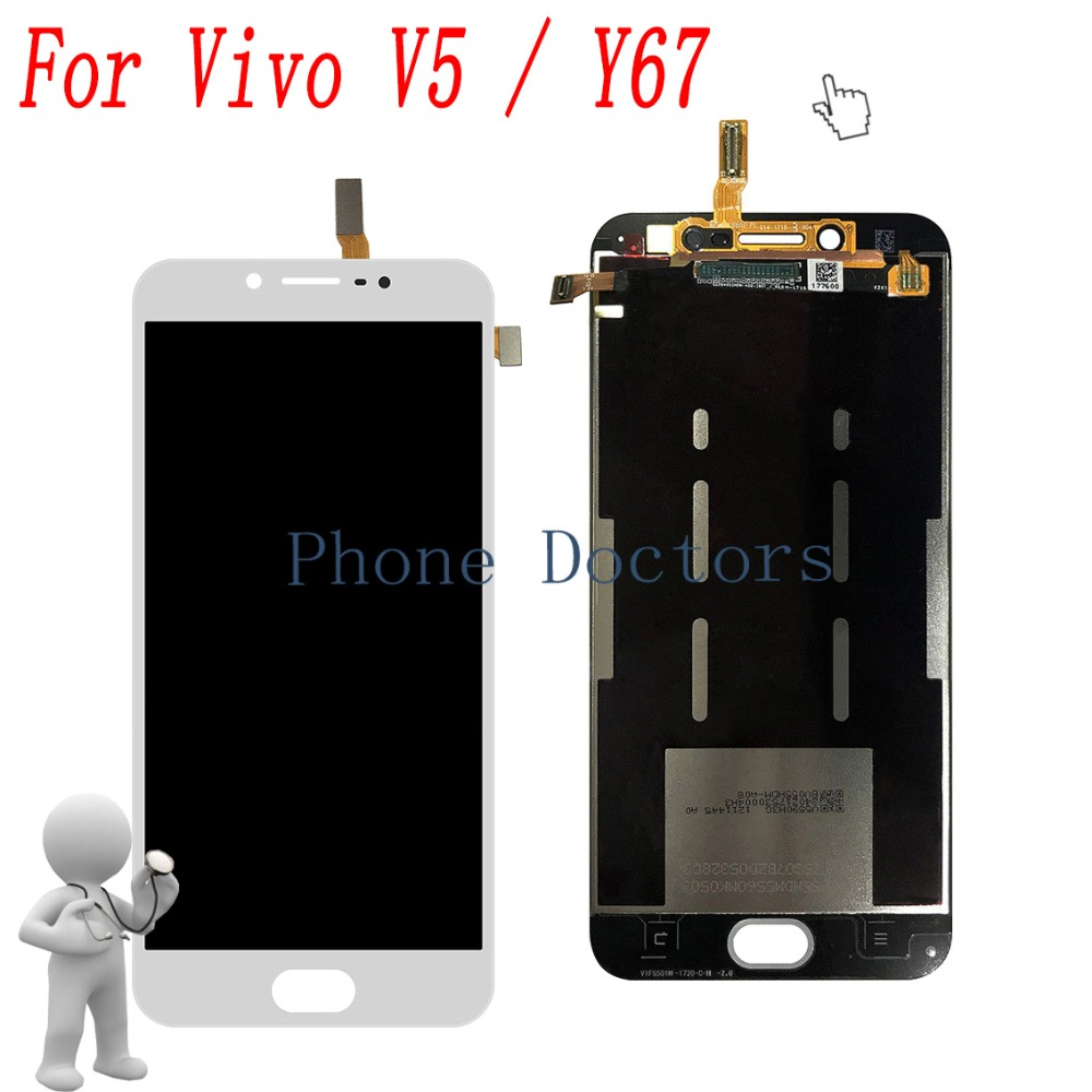 5.5 For BBK Vivo V5 1601 Full LCD display + Touch screen Digitizer assembly For BBK Vivo Y67 LCD Replacement Parts5.5 For BBK Vivo V5 1601 Full LCD display + Touch screen Digitizer assembly For BBK Vivo Y67 LCD Replacement Parts