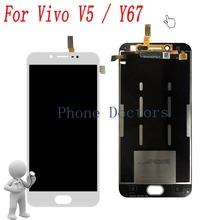 "5.5"" For BBK Vivo V5 1601 Full LCD display + Touch screen Digitizer assembly For BBK Vivo Y67 LCD Replacement Parts"