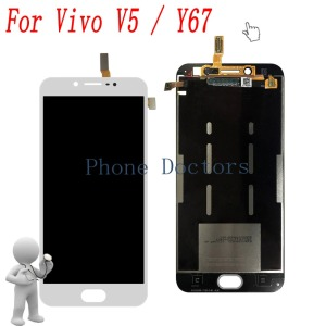 "Image 1 - 5.5"" For BBK Vivo V5 1601 Full LCD display + Touch screen Digitizer assembly For BBK Vivo Y67 LCD Replacement Parts"