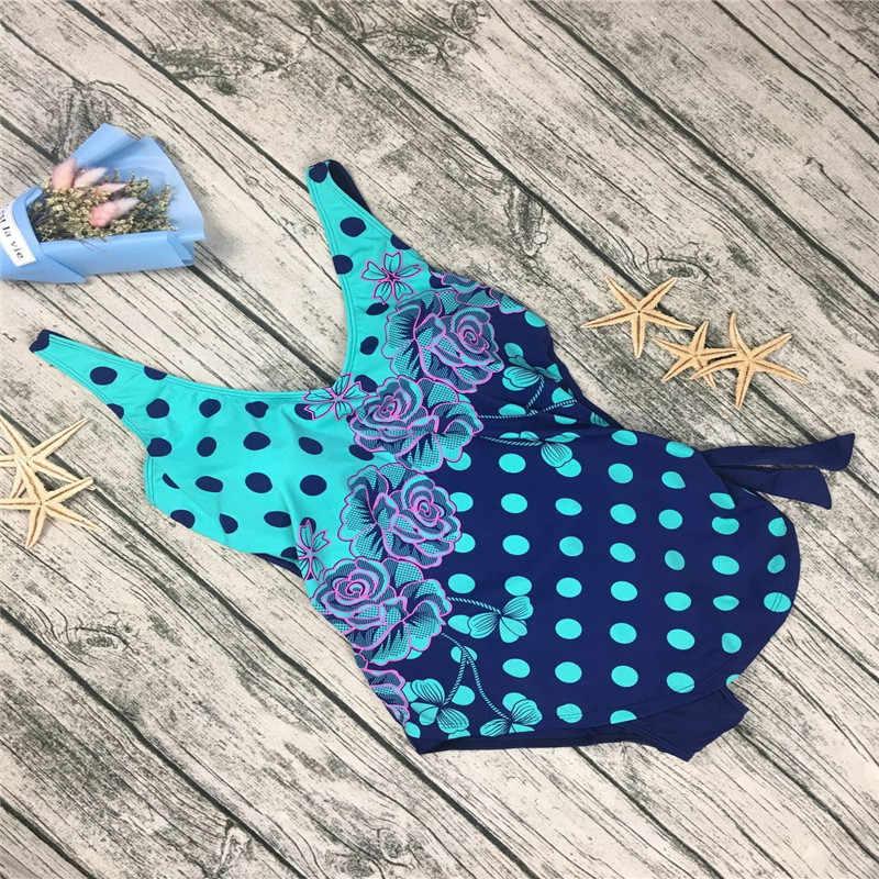 cb237022ad1c9 ... 2019 Plus Size Swimwear Women Indoor Swimsuit May Beach Sexy Push Up  Swimming Suits Tankini Dress ...