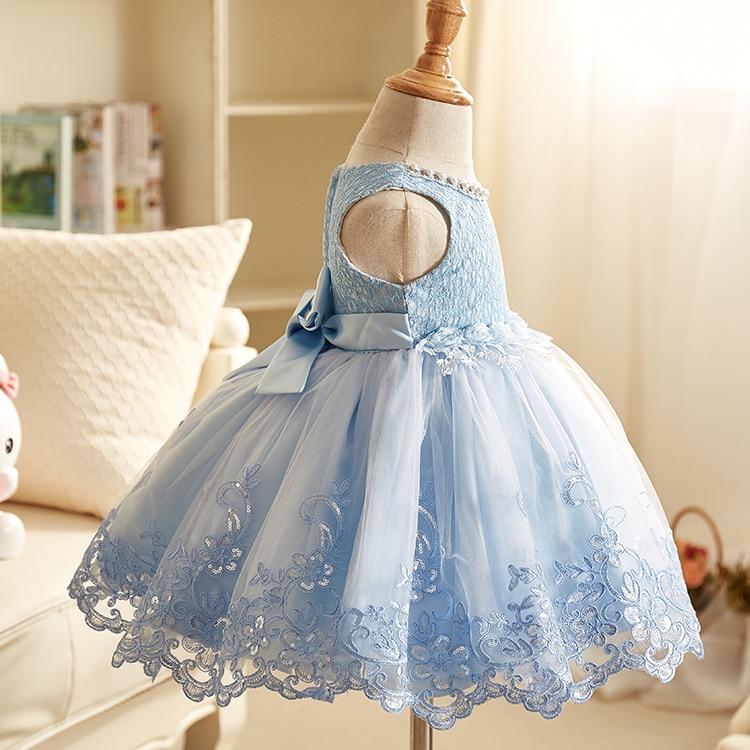 Prinses jurk voor bruiloft 2018 lente en zomer bloemenmeisje jurk - Kinderkleding - Foto 5