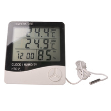Digital temperature and humidity, temperature and humidity of greenhouse medicine cabinet, electronic thermometer, free shipping digital thermometer tes 1312a free shipping