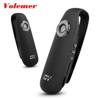 Volemer IDV007 Full HD 1080P Mini DV Camera Mini Camcorder Dash Cam Wearable Body Bike H