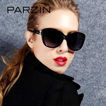 PARZIN Brand Real Polarized Glasses Cat Eye Women's Sunglasses For Driving Big Frame High Quality Sunglasses With Packing 9612 - DISCOUNT ITEM  65% OFF All Category