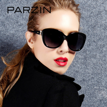 PARZIN Brand Real Polarized Glasses Cat Eye Women's Sunglasses