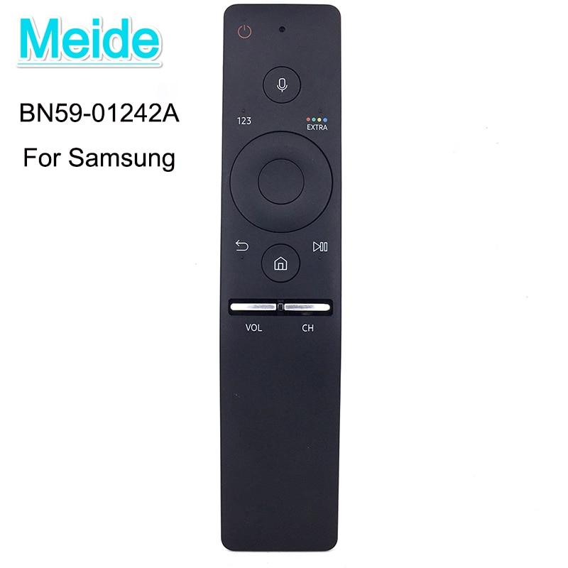 все цены на Used Original BN59-01242A Smart Voice Remote Control With Scratches Suit For Samsung 4K UHD TV MU7009 MU8009 KS9090 KS9590KU6679